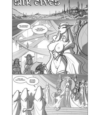 Porn Comics - Silk Elves 1