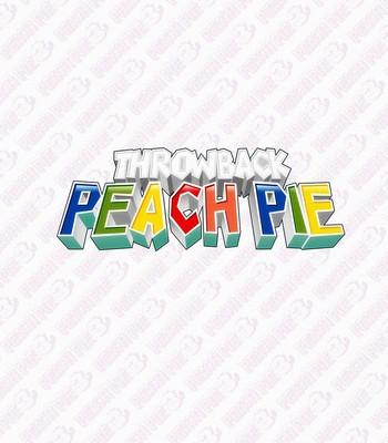 Porn Comics - Throwback Peach Pie Sex Comic