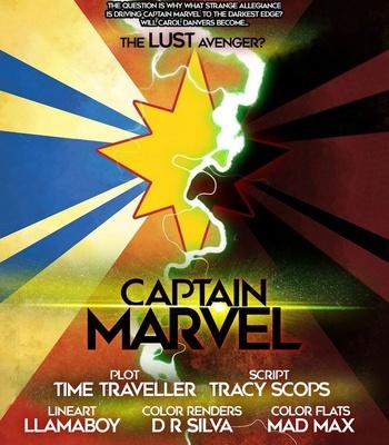 Captain Marvel – The Lust Avenger comic porn sex 002
