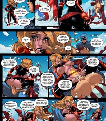 Captain Marvel – The Lust Avenger comic porn sex 003