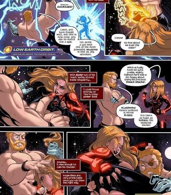 Captain Marvel – The Lust Avenger comic porn sex 005