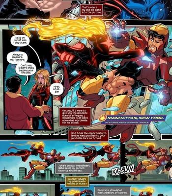 Captain Marvel – The Lust Avenger comic porn sex 006