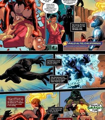 Captain Marvel – The Lust Avenger comic porn sex 007