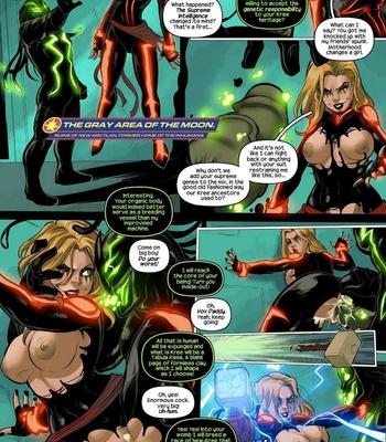 Captain Marvel – The Lust Avenger comic porn sex 009