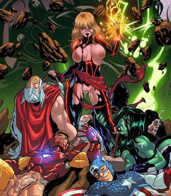 Captain Marvel – The Lust Avenger comic porn sex 012