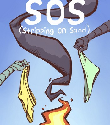 Porn Comics - Stripping On Sand
