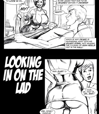 Porn Comics - Looking In On The Lad