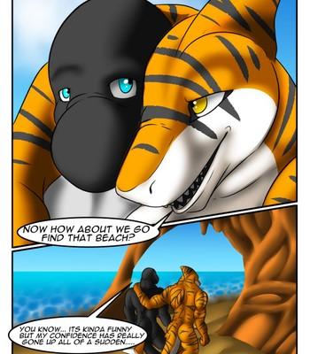 The Hidden Beach comic porn sex 023