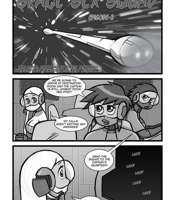 Porn Comics - Space Sex Squad 3