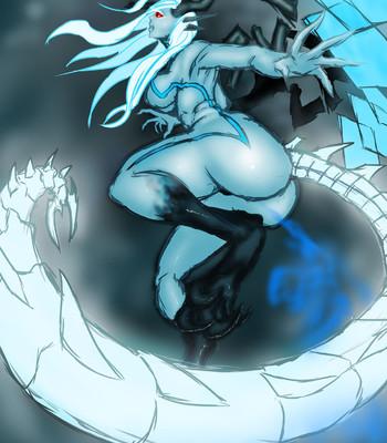 Porn Comics - The Silver Dragoness