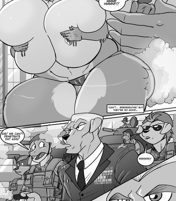 Attack Of The 50ft Wolfette 2 comic porn sex 004
