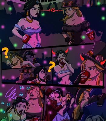 Porn Comics - Sigma VS Omega – Halloween Romp