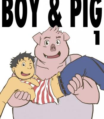 Porn Comics - Boy & Pig 1