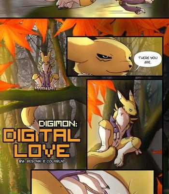 Porn Comics - Digimon – Digital Love