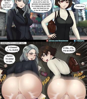 ANALized comic porn sex 029