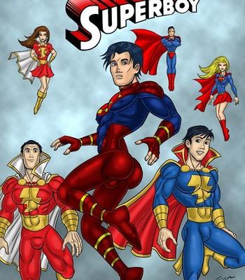 Porn Comics - Superboy Sex Comic