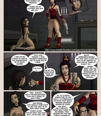 Porn Comics - Bending Katara
