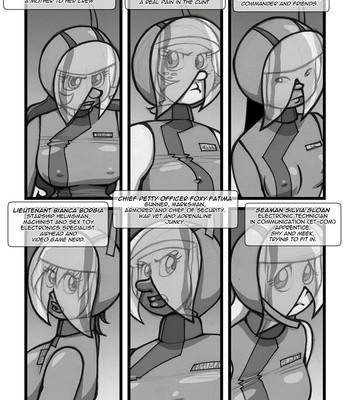 Porn Comics - Space Sex Squad 11