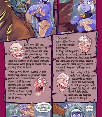 Trouble With Trolls comic porn sex 002