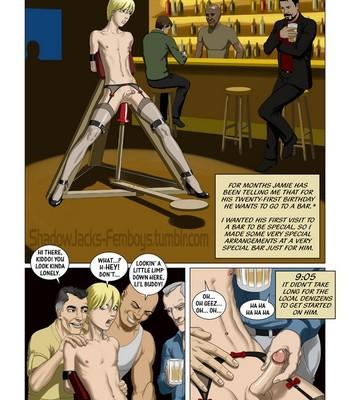 Porn Comics - One Night In A Bar