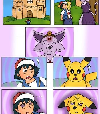 Porn Comics - Ash Pikachu Princess