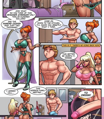 My Mom And Sister Are Size Queen Sluts 3 comic porn sex 004