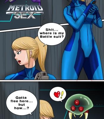 Porn Comics - Metroid Sex