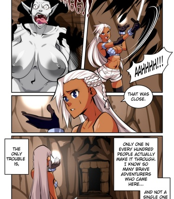 A Fighter's Fate comic porn sex 003