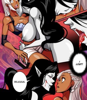 A Fighter's Fate comic porn sex 007