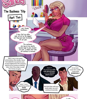 Porn Comics - The Secret Life Of Sandy – The Business Trip 2