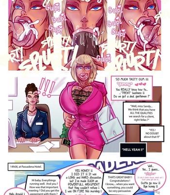 The Secret Life Of Sandy – The Business Trip 2 comic porn sex 005