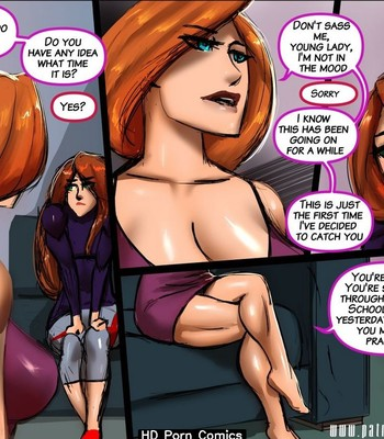 Questionably Possible Sidequest – Mrs Possible comic porn sex 005