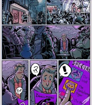 Porn Comics - Smoke & Leather 1