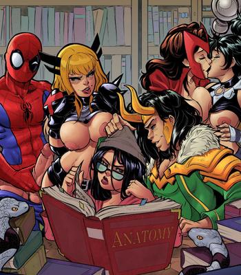 Strange Anatomy comic porn sex 011