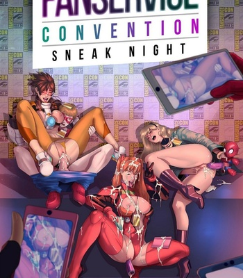 Porn Comics - Fanservice Convention by Tracy Scops Series