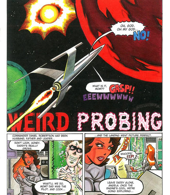 Porn Comics - Weird Probing