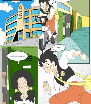 Dragon Ball Yamete – Romantic Hentai Comedy comic porn sex 003