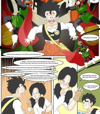 Dragon Ball Yamete – Romantic Hentai Comedy comic porn sex 005