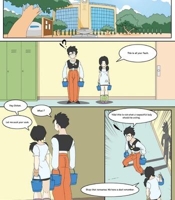 Dragon Ball Yamete – Romantic Hentai Comedy comic porn sex 008