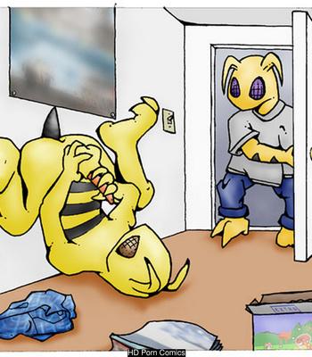 Porn Comics - Bee Interruption
