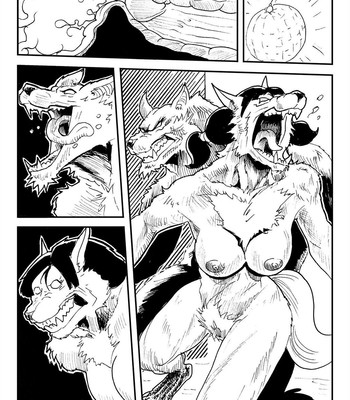 Videl VS The Werewolf comic porn sex 011