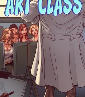 Porn Comics - Art Class