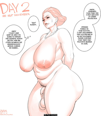 Karen's No Nut November comic porn sex 002