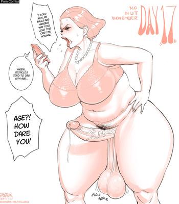 Karen's No Nut November comic porn sex 018