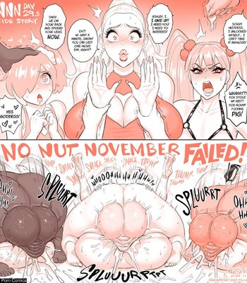 Karen's No Nut November comic porn sex 033