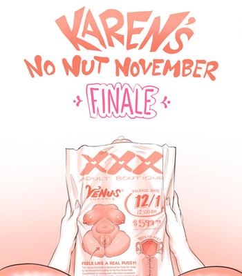 Karen's No Nut November comic porn sex 035