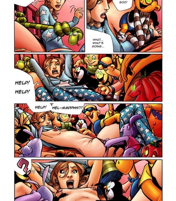 Stuffed comic porn sex 003