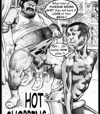Porn Comics - Hot Shopping