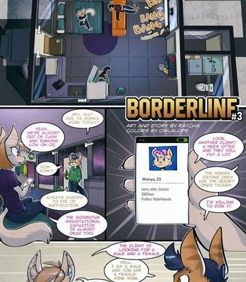 Porn Comics - Borderline 3