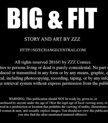 Porn Comics - Big & Fit 1